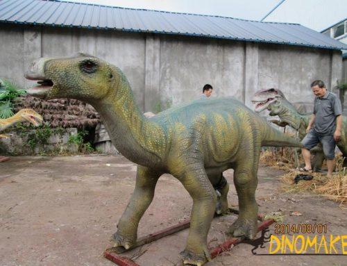 3.5m small Animatronic dinosaur Maiasaura