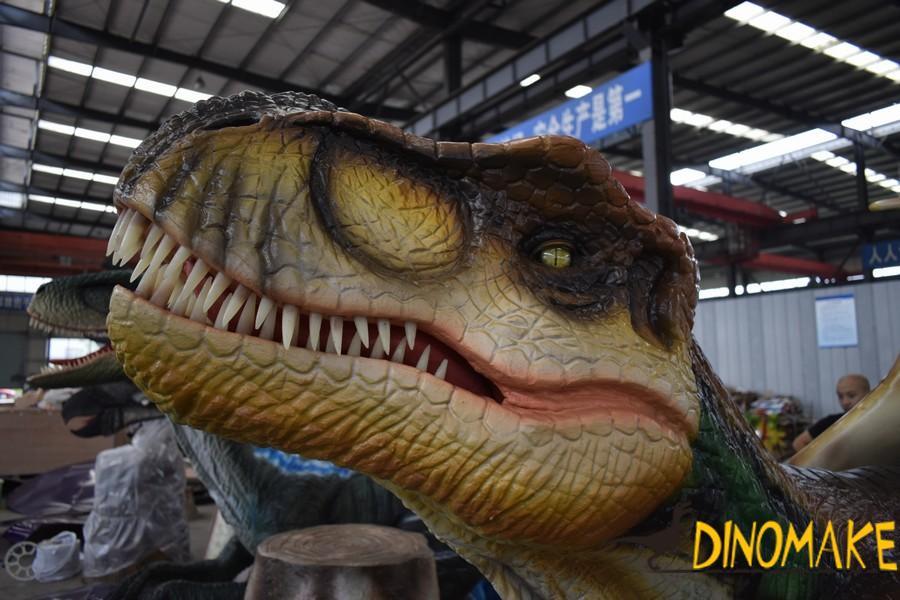 Animatronic dinosaur factory is producing T-Rex