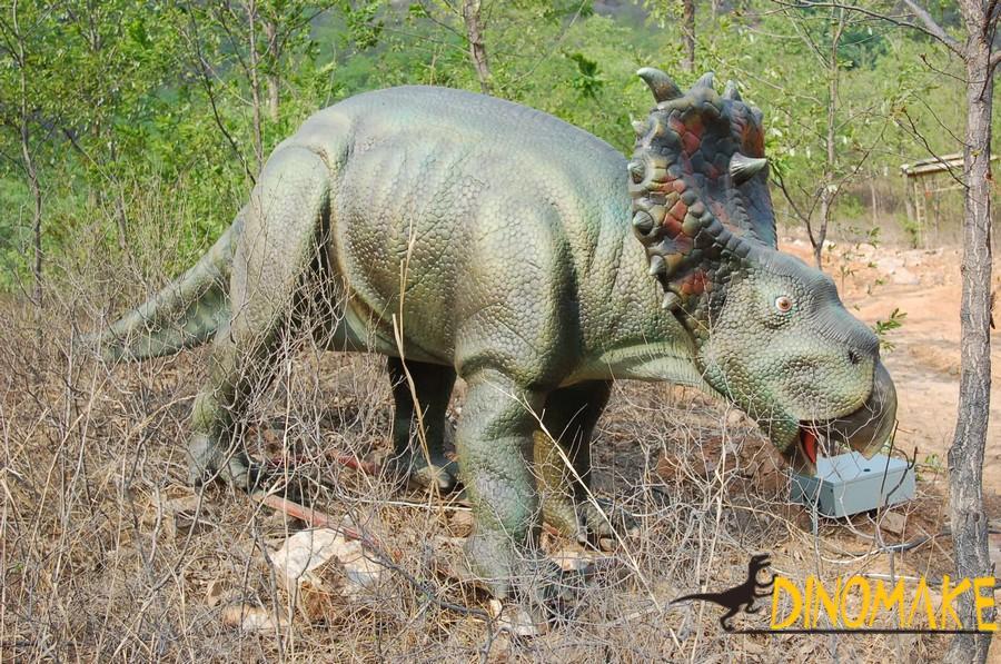 Animatronic dinosaur for Jurassic Park