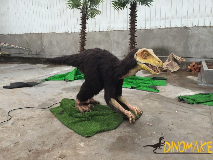 Animatronic dinosaur in Portugal