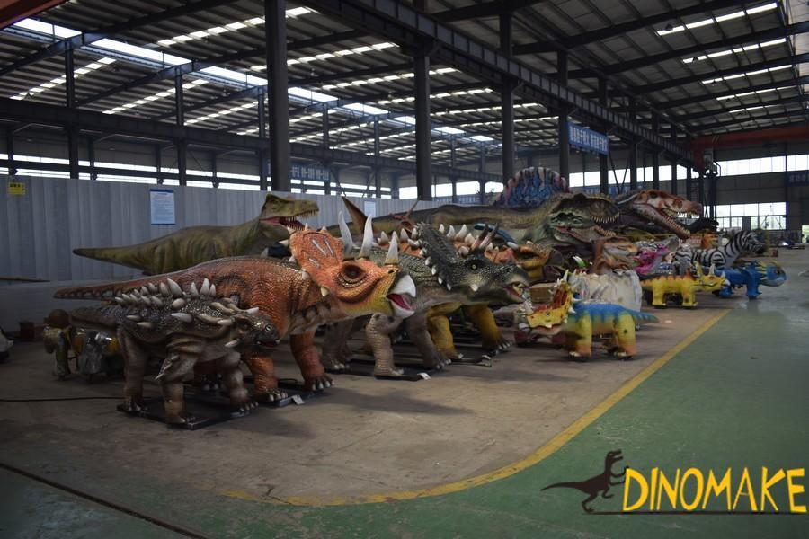 Animatronic dinosaur manufacturer many products