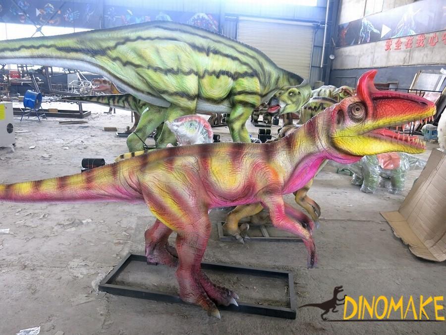 Animatronic dinosaur of ice spinosaurus