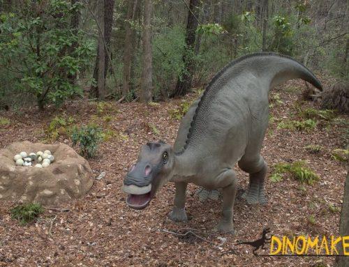 Classic Animatronic dinosaur product Maiasaura
