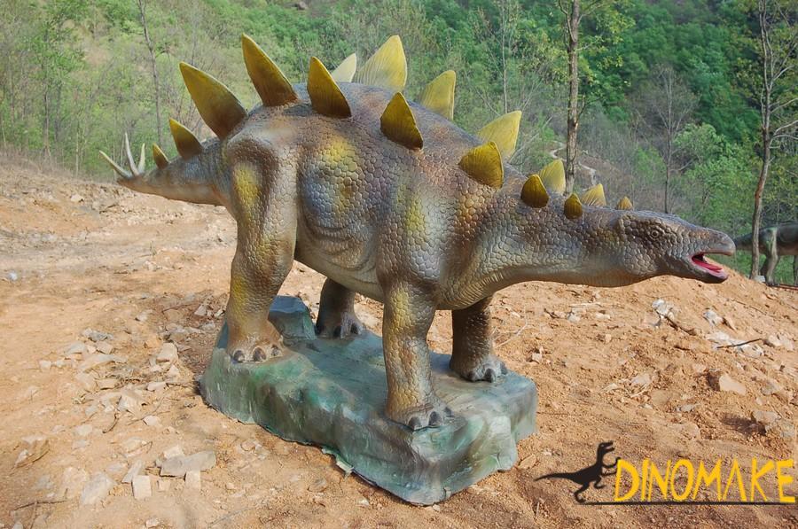 Animatronic dinosaur product to Siberia
