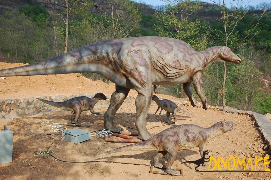 Animatronic dinosaur products to Siberia