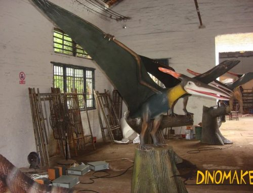Animatronic dinosaurs made for theme parks