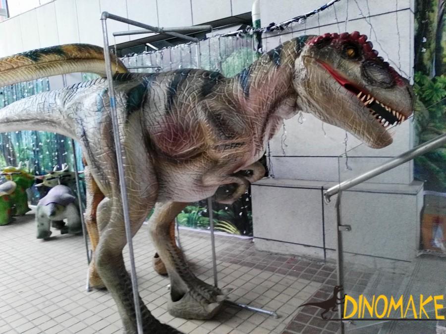 Bangladesh Animatronic Dinosaur Costume Project