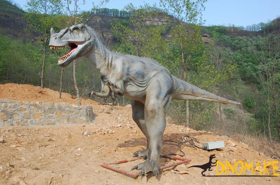 Custom Animatronic dinosaur for Jurassic Park