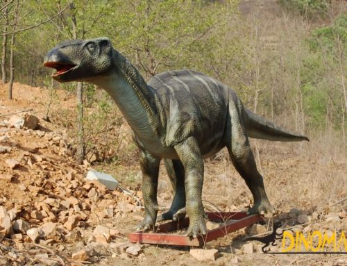 Custom Animatronic dinosaurs for Jurassic Park