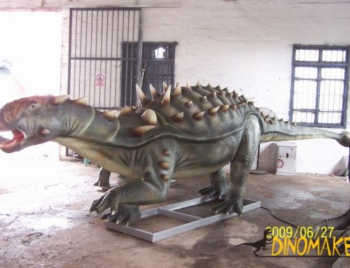 Customized Animatronic dinosaurs in Central and East Asia