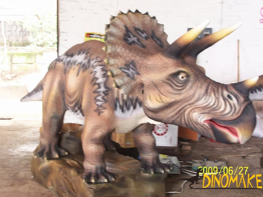 Customized Animated dinosaurs in Central and East Asia
