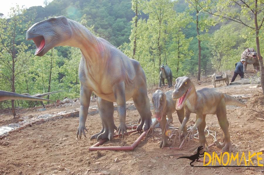 Giant Animatronic Dinosaurs Jurassic Park