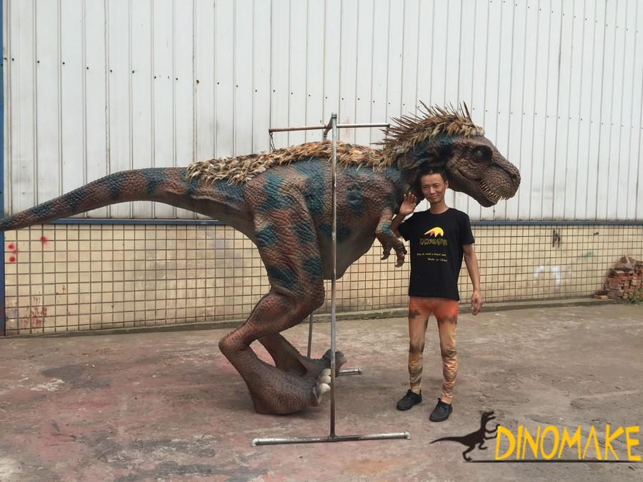 Jurassic World Simulation Model Realistic Animatronic Dinosaur Costume