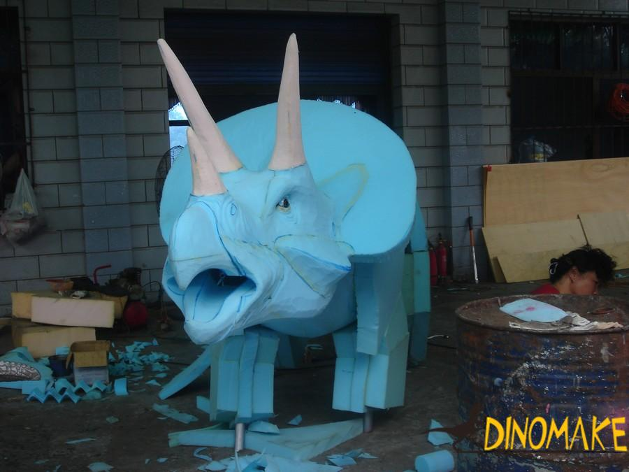 Life Size Animatronic Dinosaur For Dinosaur Exhibition