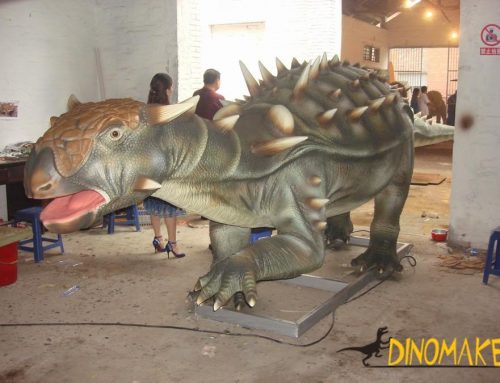 Life-size Animatronic dinosaur for the park