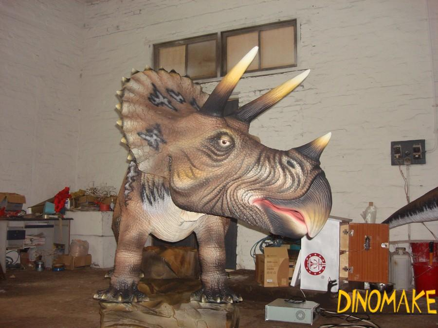 Life-size mechanical Animatronic dinosaurs robot