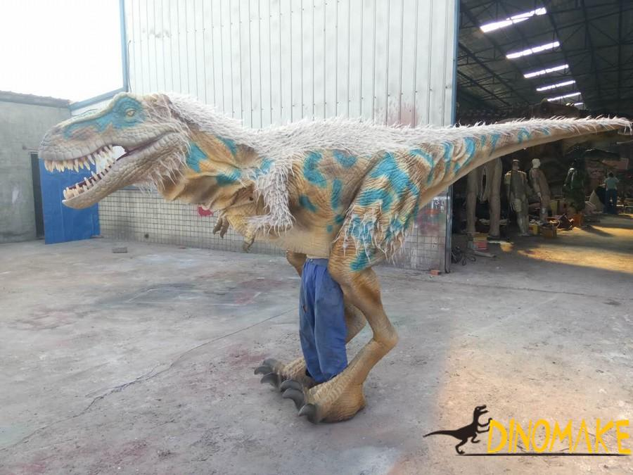 Outdoor playground animatronic dinosaur Costume model for exhibition