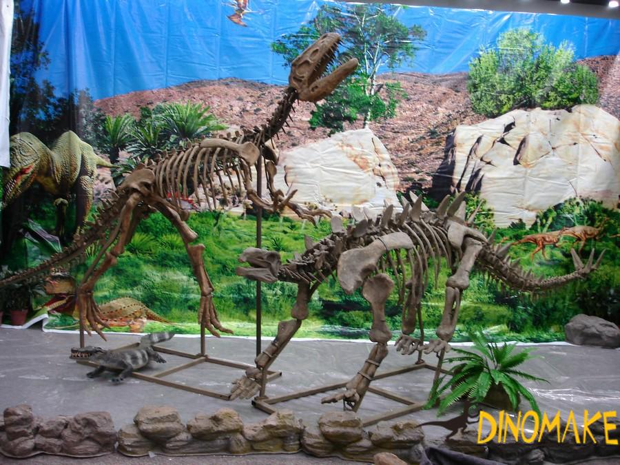 Outdoor static Animatronic dinosaurs sculpture for sale