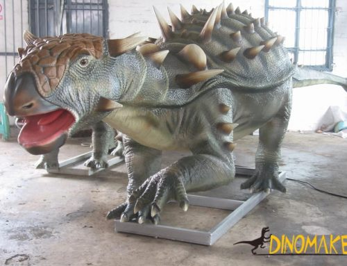 Outdoor theme park Animatronic dinosaur model