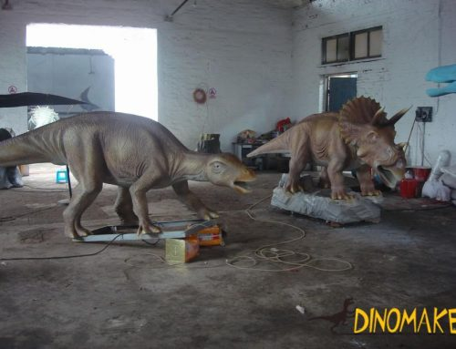 Park electronic Animatronic dinosaur model