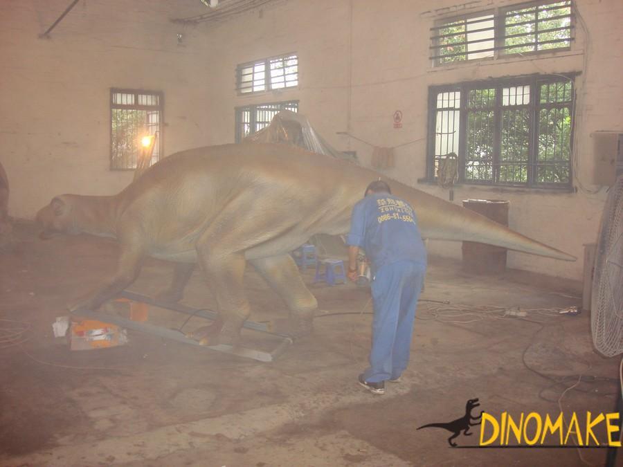Park electronic Animatronic dinosaur model
