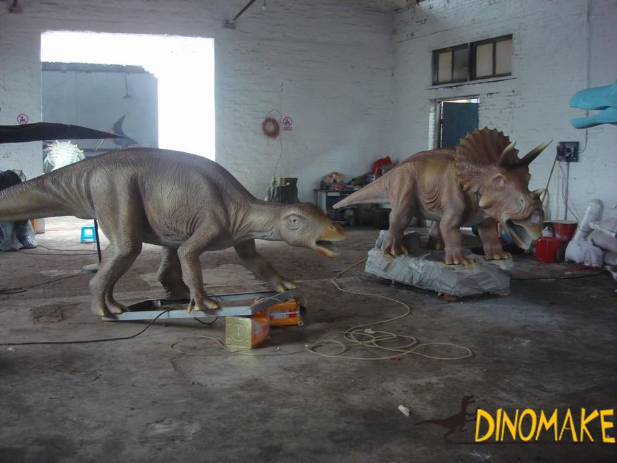 Park electronic Animatronic dinosaur