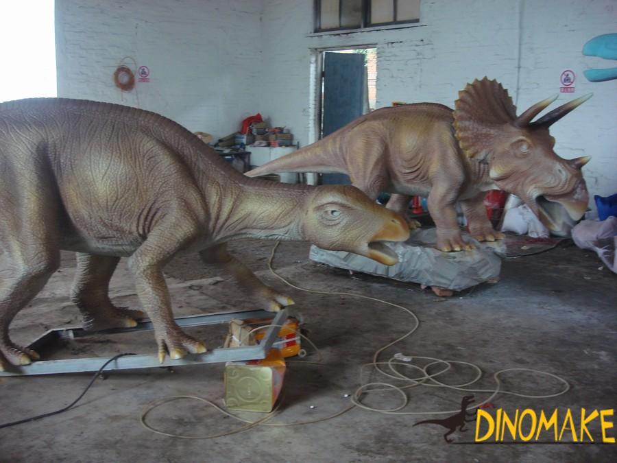 Park electronic Animatronic dinosaurs model