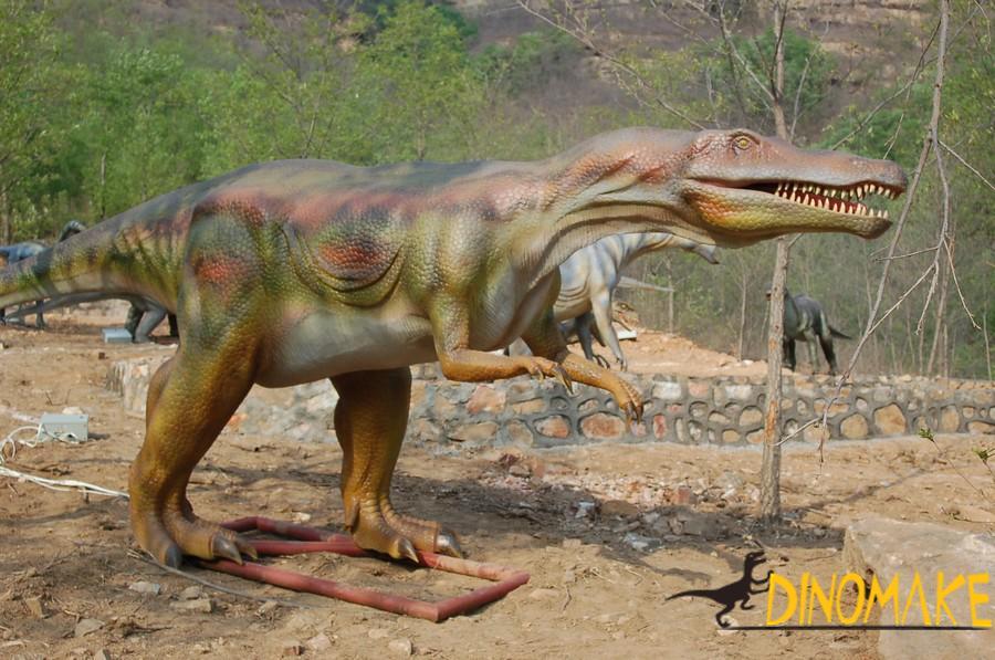 Production process of life-size animatronic dinosaur model
