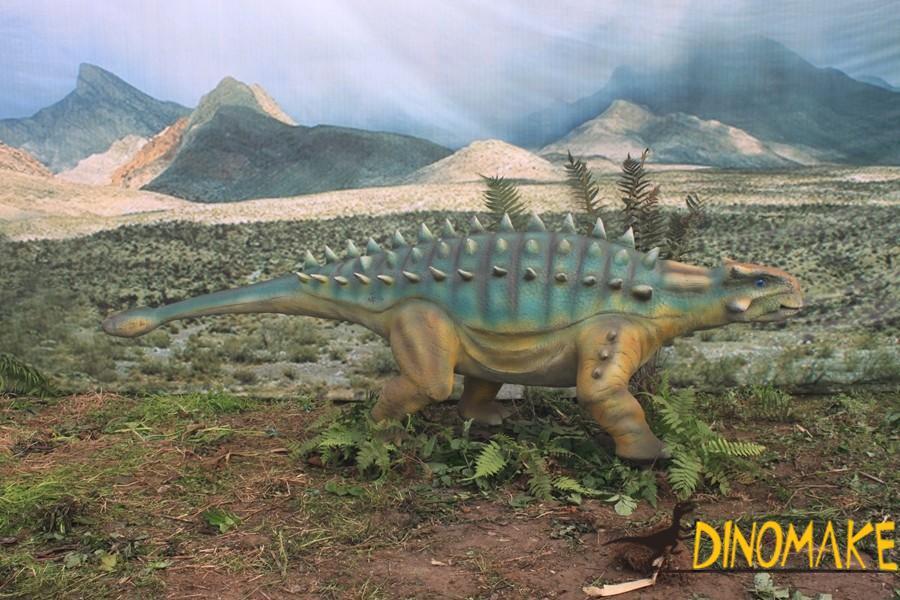Real Animatronic Dinosaur Ankylosaurus