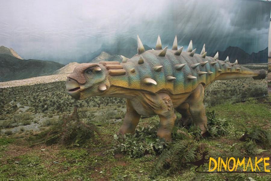 Real Animatronic Dinosaur of Ankylosaurus
