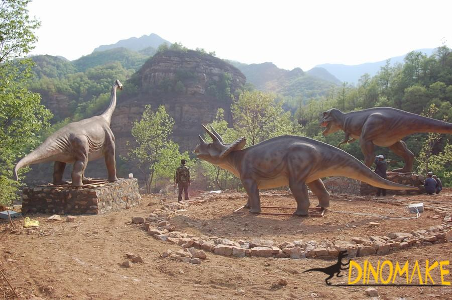 Real Animatronic dinosaur