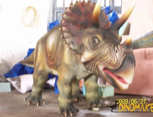 Realistic Animatronic dinosaur customization