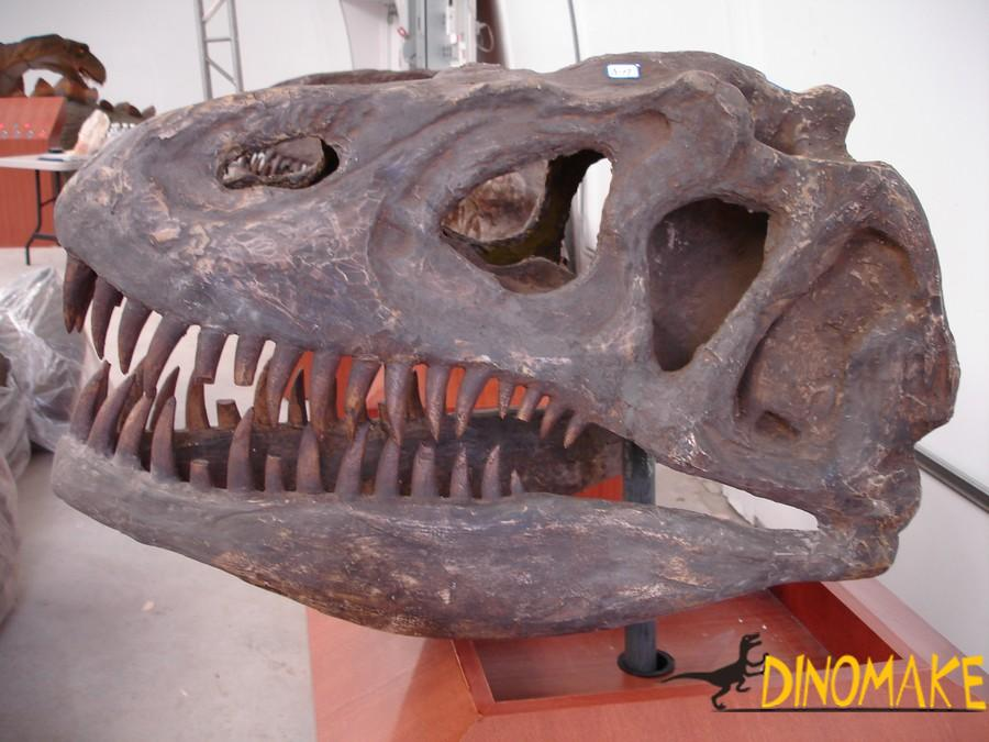 Static Animatronic dinosaurs T-Rex skeleton