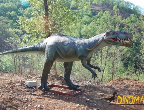 Walking Animatronic dinosaur maker
