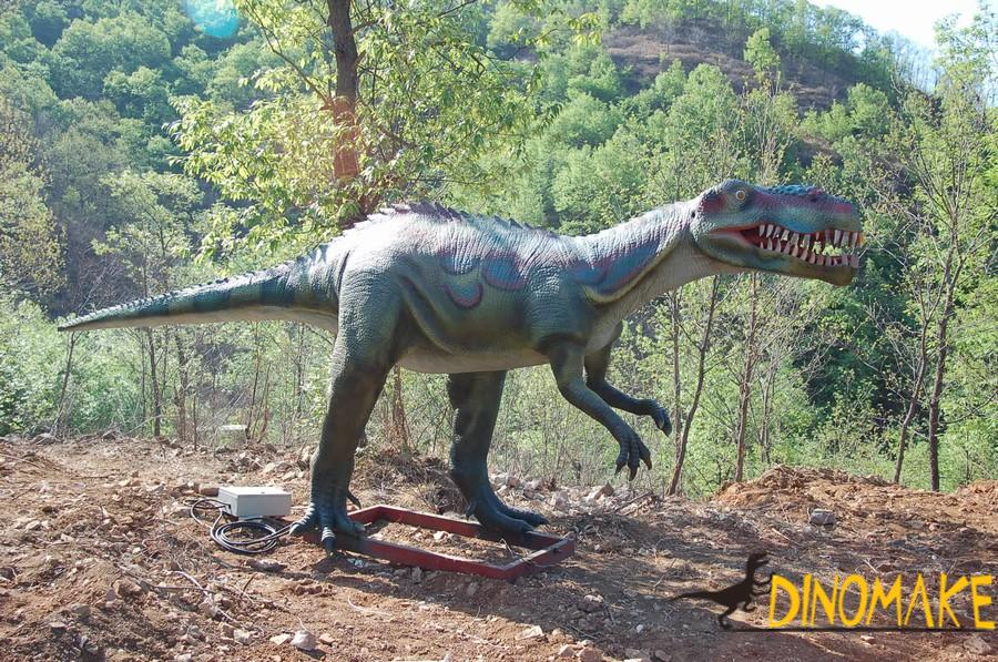 Walking Animatronic dinosaurs