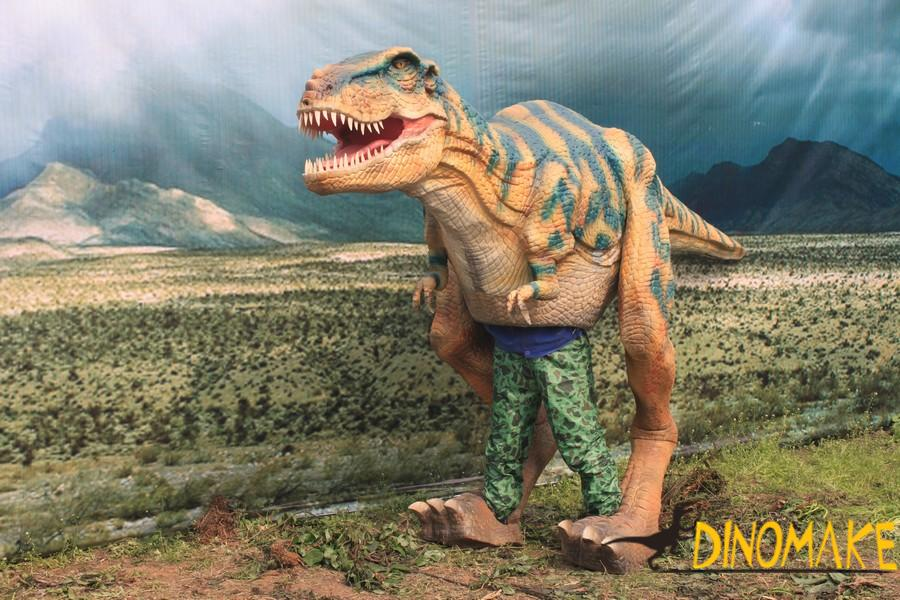 Walking dinosaurs costume for sale