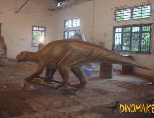 Wetland Park Animatronic Dinosaur Sculpture