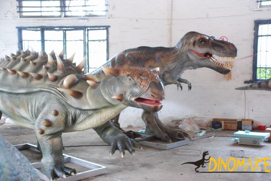 animated dinosaur triceratops