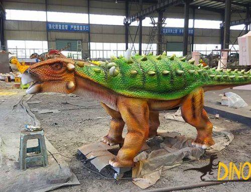 Animatronic Ankylosaurus Dinosaur Production