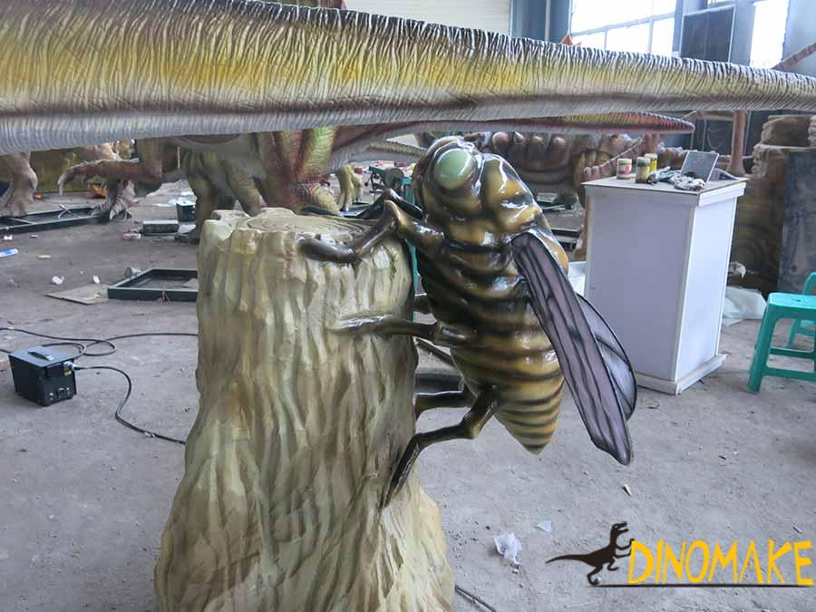 animatronic Cicada