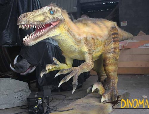 Various types of small animatronic Dinosaurs for sale