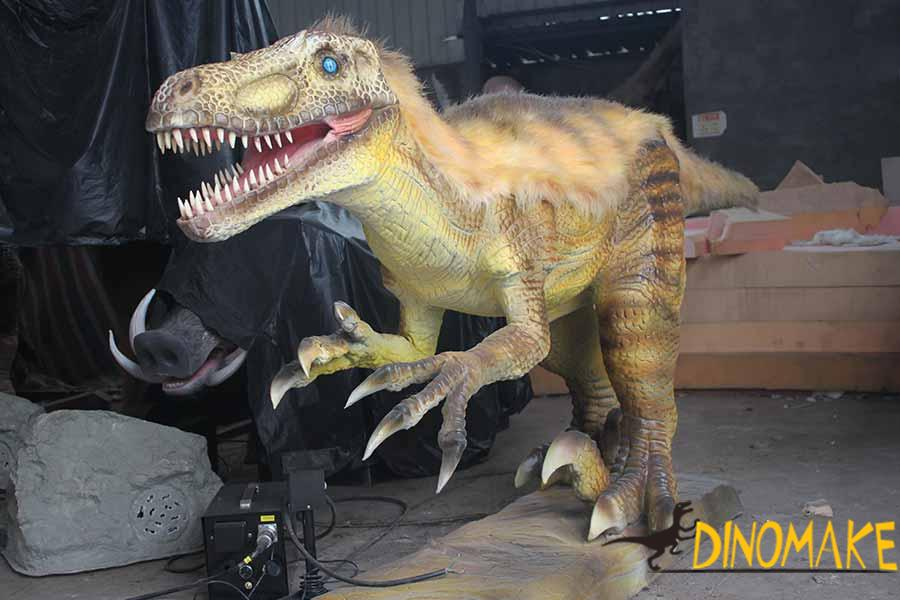 animatronic raptor