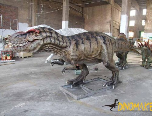 How Should Animatronic Dinosaurs be Profitable?