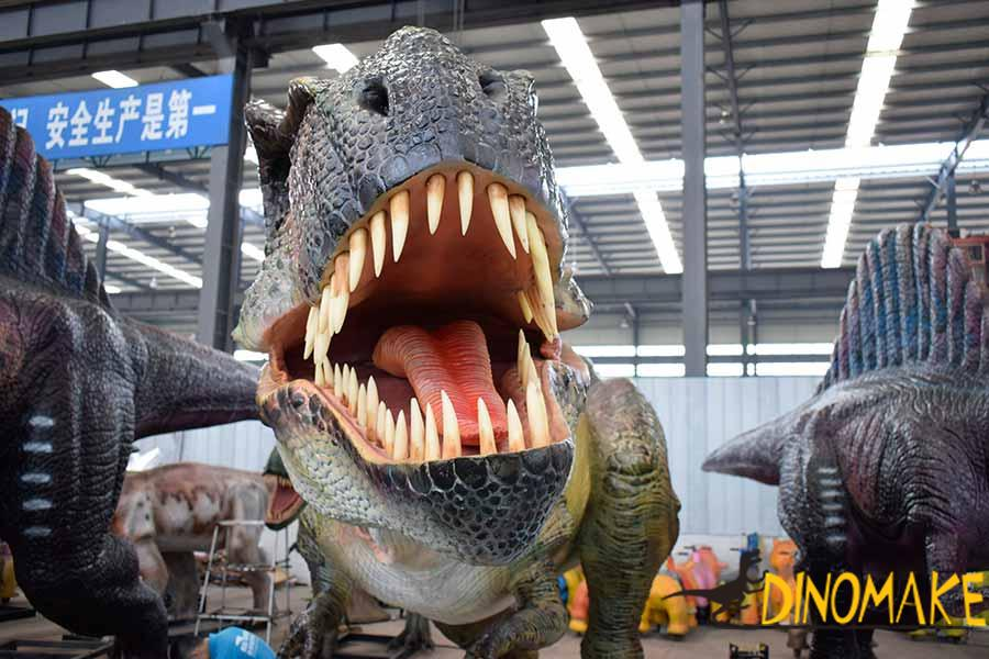 animatronic t rex