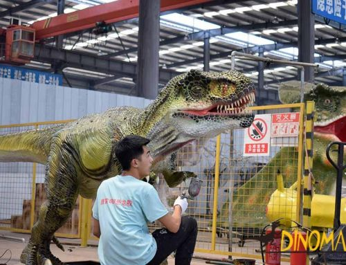 How Long Does It Take to Make An Animatronic Dinosaur?