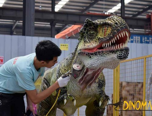 How Much is the Investment for Holding the Animatronic Dinosaur Exhibition?