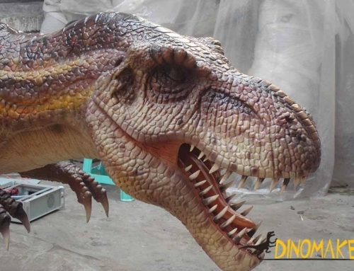 Animatronic Dinosaur Production History Time