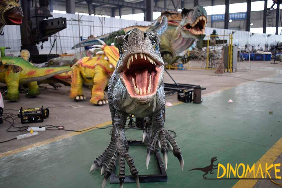 animatronic velociraptor