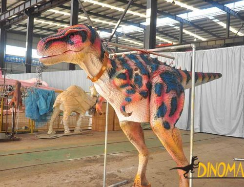 Where is the Best Place to Apply the Animatronic Dinosaur Suit?