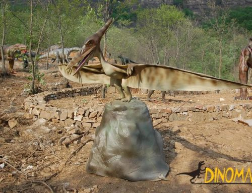 Large Animatronic dinosaur models